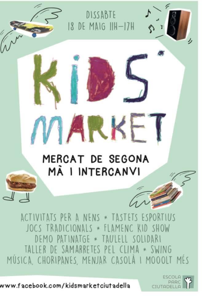Kid's Market AFA Escola del Parc de la Ciutadella